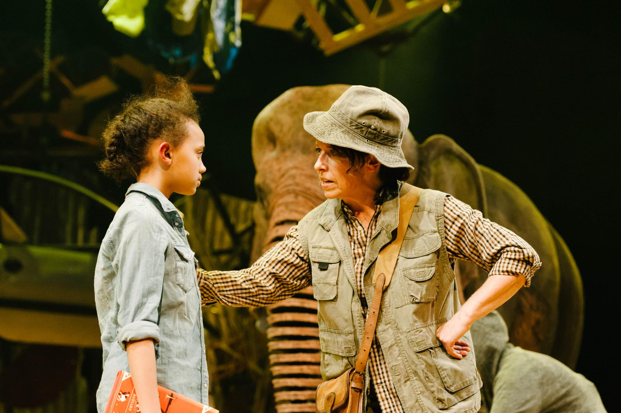 Originated by Chichester Festival Youth Theatre at Cass Sculpture Foundation, Michael Morpurgo's story is directed by Timothy Sheader and CFT's Director of LEAP Dale Rooks, with puppetry design and direction by Finn Caldwell and Toby Olié, both previous Associate Puppetry Directors on War Horse, this epic and spectacular production tells an emotional and moving story of love, loss, loyalty and of living for the moment. PHOTO ©DAN TSANTILIS 2017